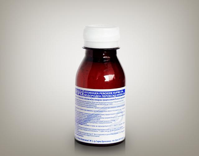 Hydrogen peroxide Kupro 3%