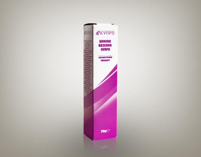 Цинков вазелин Купро 8%