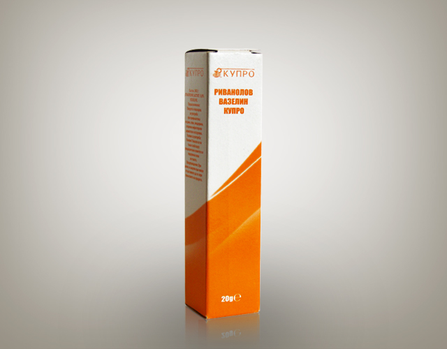 Риванолов вазелин Купро 0.8%