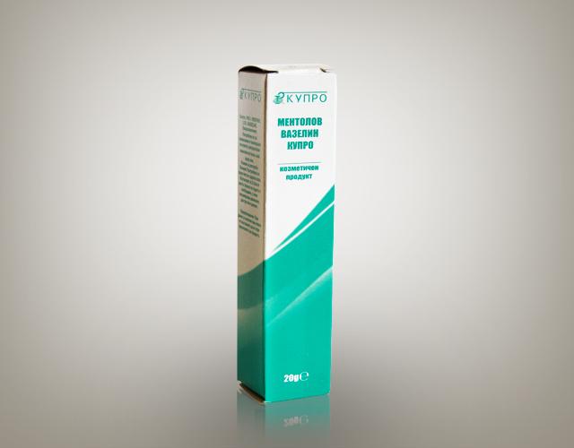 Menthol 1.5% vasseline